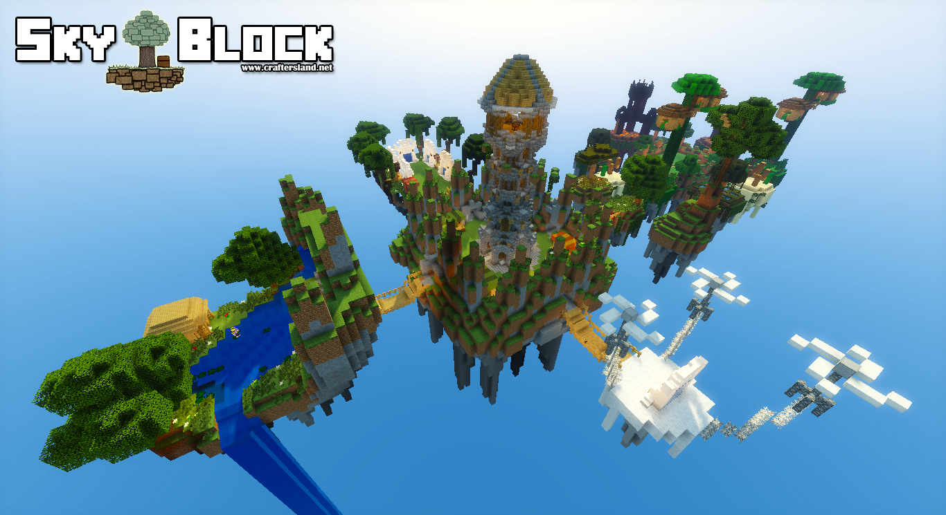 ❀❀❀ SkyBlock Server ❀❀❀ Island Level & Challenges ❀❀❀ by