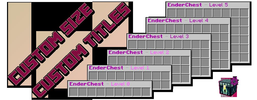 Overview - Custom EnderChest - Bukkit Plugins - Projects - Bukkit